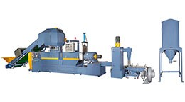 Plastic Waste Recycling Machine (3-in-One Type)