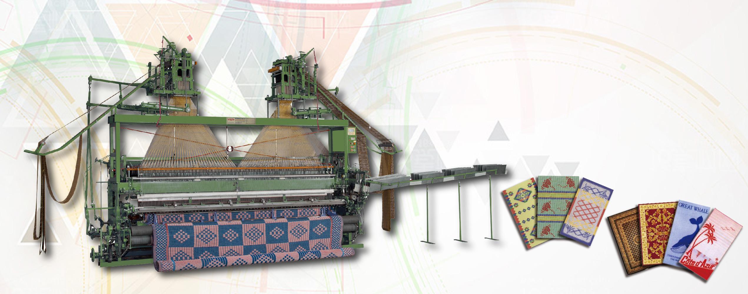 ऑटो जैक्वार्ड वीविंग मशीन