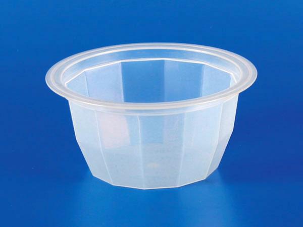 塑膠PP鑽石果凍杯