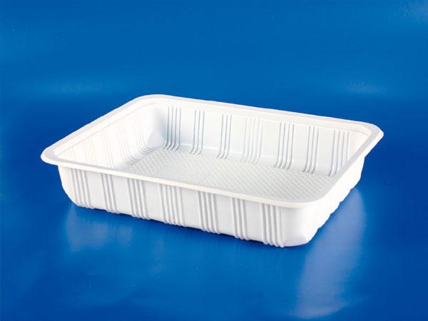 PP微波冷凍食品塑膠4cm封口盒