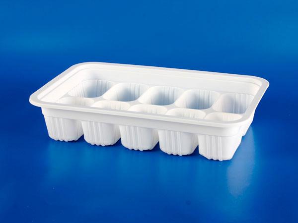 Microwave Frozen Food Plastic - PP 10 Mga piraso ng Dumplings Sealing Box