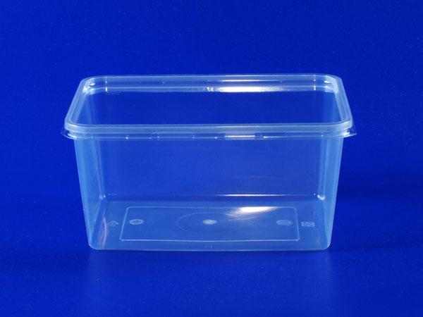 Isang Litrong Transparent na Transparent na Box (PP + PET)