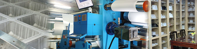 Centropak プロのプラスチック容器製造工場。