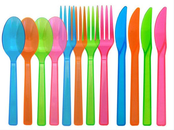 塑膠餐具刀、叉、湯匙