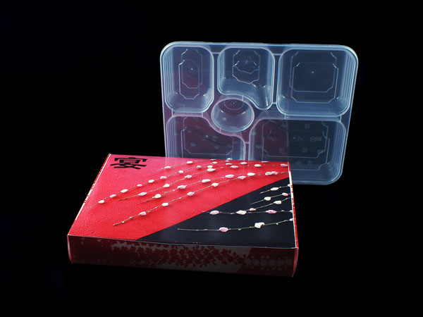 صندوق غداء بلاستيك