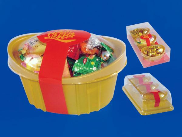 プラスチックスナック容器シリーズ