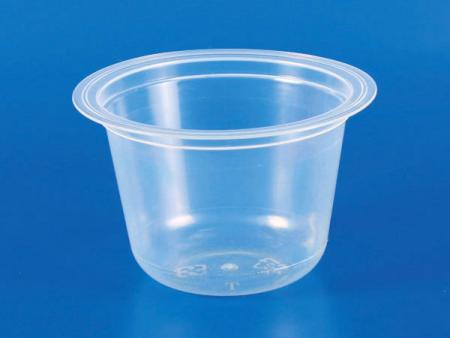 180g Plastic - PP Jelly Round Cup - 180g Plastic-PP Jelly Round Cup