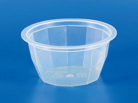 110g Plastique - PP Diamond Jelly Cup