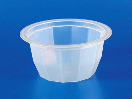 130g nhựa - PP Diamond Jelly Cup - Cốc thạch kim cương nhựa-PP 130g