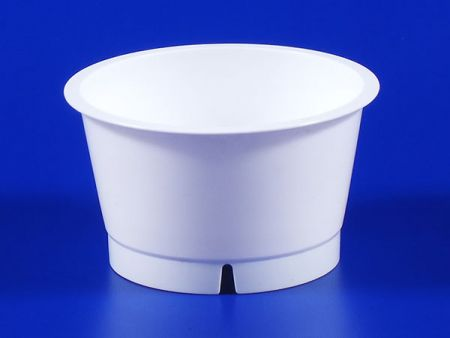 Jelly Plastic-PP Cup White