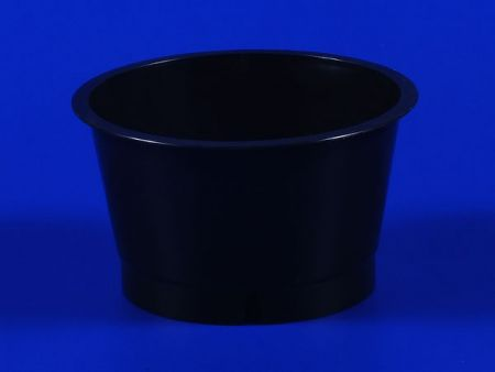 Jelly Plastic-PP Cup Black