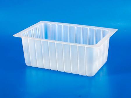 Boîte en plastique-PP - 10 pièces de boîte à gâteau aux radis - Boîte en plastique PP - 10 pièces de boîte à gâteau aux radis