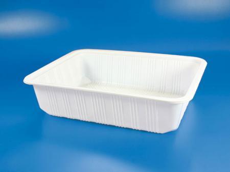Plastique pour aliments surgelés pour micro-ondes - PP 5,5 cm - Boîte de scellage haute - Plastique pour aliments surgelés au micro-ondes - Boîte d'étanchéité en PP de 5,5 cm de haut