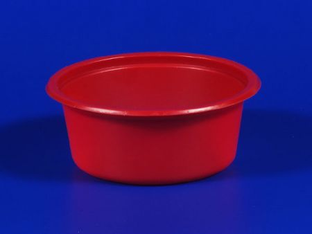 PP微波冷凍食品塑膠紅醬杯 - PP微波冷凍食品塑膠紅醬杯