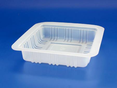 PP微波冷凍食品塑膠麵封口盒 - PP微波冷凍食品塑膠麵封口盒