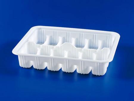 الميكروويف البلاستيك الغذائي المجمد - صندوق ختم الزلابية 12 قطعة PP - الميكروويف البلاستيك الغذائي المجمد - صندوق ختم الزلابية 12 قطعة PP
