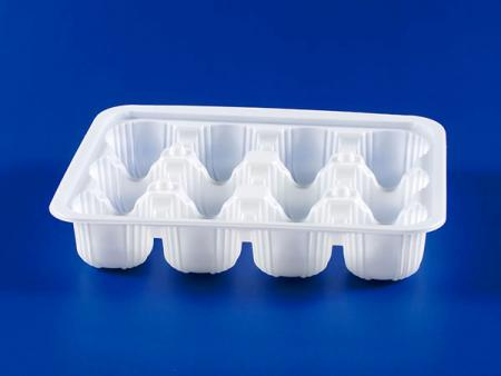PP微波冷凍食品塑膠 12入 S-197 湯包封口盒 - PP微波冷凍食品塑膠12入 S-197湯包封口盒