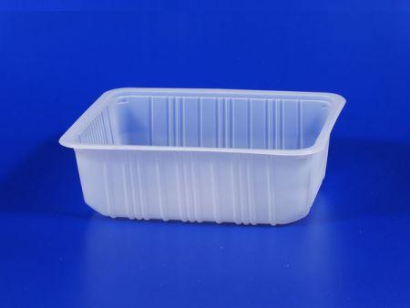 Plastique pour aliments surgelés au micro-ondes - PP 7cm - Boîte haute scellée - Plastique pour aliments surgelés au micro-ondes - PP 7cm - Boîte haute scellée