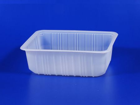전자 레인지 냉동 식품 플라스틱 - PP 7cm - 높은 밀봉 상자 - 전자 레인지 냉동 식품 플라스틱 - PP 7cm - 높은 밀봉 상자