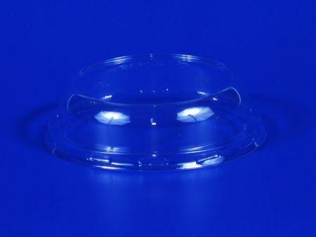 Φ88 Plastic PET Convex Flat Lid - Φ88 Plastic PET Convex Lid