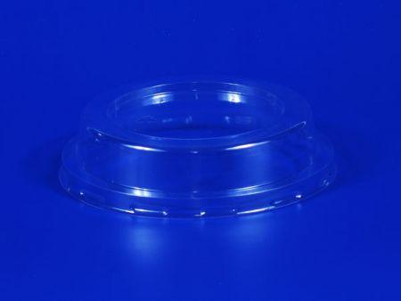 口徑100塑膠PET透明凸蓋 - 口徑100塑膠PET透明凸蓋