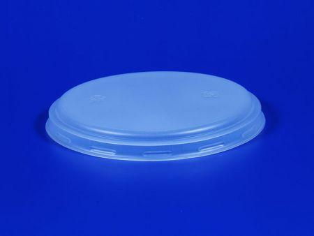 Φ100 Plastic PP Microwave Flat Lid - Φ100 Plastic PP Microwave Flat Lid