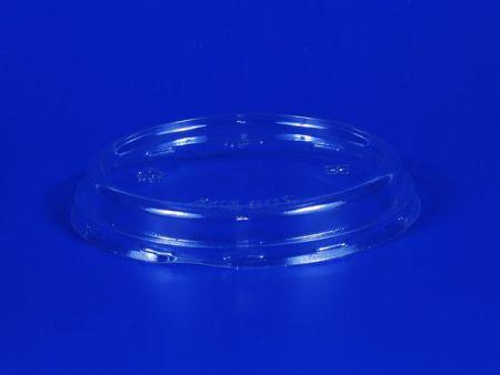Φ105 ฝาพลาสติก PET นูนแบน - Φ105 ฝาพลาสติก PET นูน