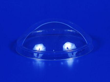 口徑75塑膠PET球蓋 - 口徑75塑膠PET透明半球蓋