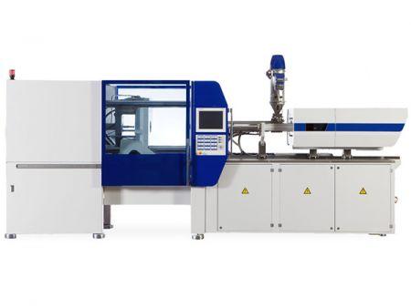 खाद्य ग्रेड प्लास्टिक कंटेनर स्वचालित उच्च गति इंजेक्शन मोल्डिंग मशीन