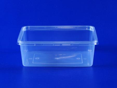 Boîte transparente environnementale en plastique de 0,7 litre - Boîte transparente environnementale en plastique PP de 0,7 litre