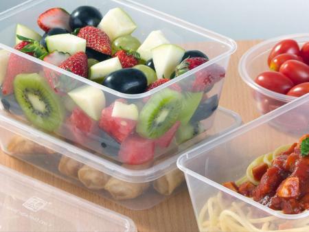 Plastik - PP + PET Fruit Box