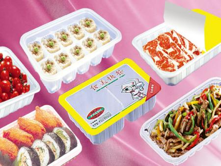 Série de boîtes d'emballage d'aliments surgelés pour micro-ondes PP
