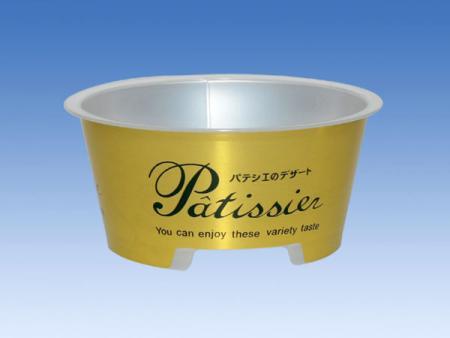 130ml PP金色貼標塑膠杯 - 130ml PP金色貼標塑膠杯