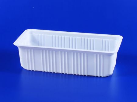 PP微波冷凍食品塑膠1000g豆腐封口盒 - PP微波冷凍食品塑膠1000g豆腐封口盒