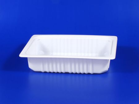 PP微波冷凍食品塑膠2200g豆腐封口盒 - PP微波冷凍食品塑膠2200g豆腐封口盒