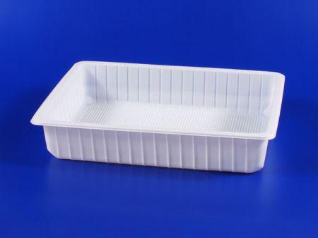 PP微波冷凍食品塑膠2500g豆腐封口盒 - PP微波冷凍食品塑膠2500g豆腐封口盒
