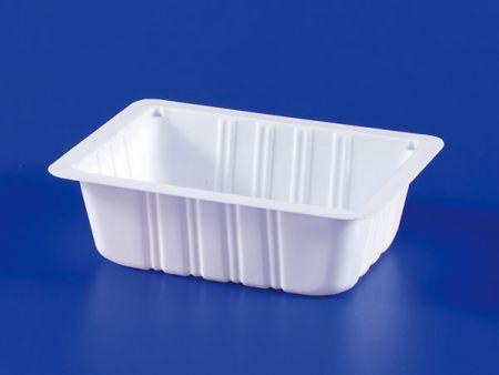 Boîte d'étanchéité en plastique 300g pour aliments surgelés pour micro-ondes PP TOFU - Boîte d'étanchéité en plastique 280g-2 pour aliments surgelés pour micro-ondes PP TOFU
