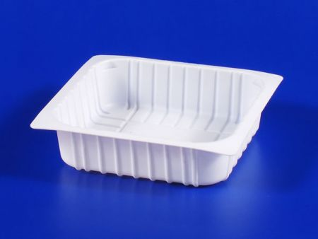 PP microwave frozen na pagkain TOFU plastic 380g sealing box - PP microwave frozen na pagkain TOFU plastic 380g sealing box