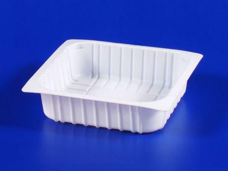 Boîte d'étanchéité en plastique 380g pour aliments surgelés pour micro-ondes PP TOFU - Boîte d'étanchéité en plastique 380g pour aliments surgelés pour micro-ondes PP TOFU