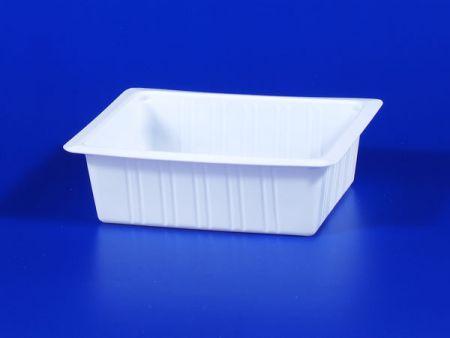 PP微波冷凍食品塑膠500g豆腐封口盒 - PP微波冷凍食品塑膠500g豆腐封口盒