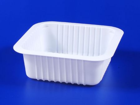 PP microwave frozen food TOFU plastic 510g sealing box - PP microwave frozen food TOFU plastic 510g sealing box