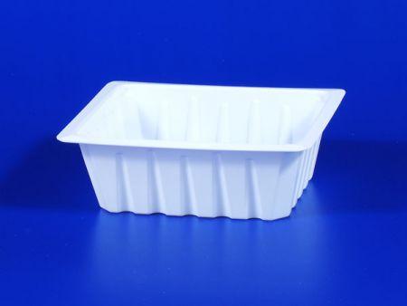 PP微波冷凍食品塑膠520g豆腐封口盒 - PP微波冷凍食品塑膠520g豆腐封口盒