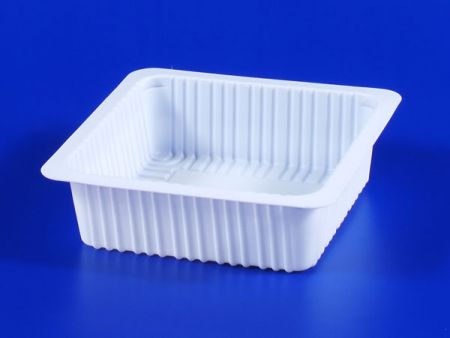 PP microwave frozen na pagkain TOFU plastic 530g sealing box - PP microwave frozen na pagkain TOFU plastic 530g sealing box