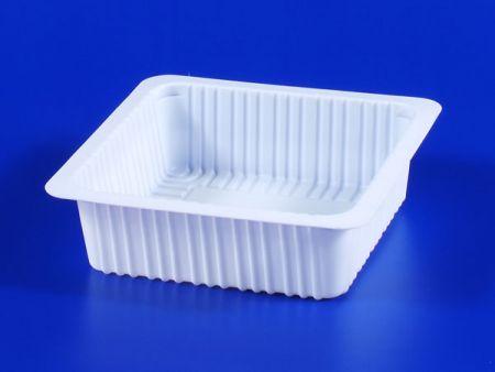 Boîte d'étanchéité en plastique 530g pour aliments surgelés pour micro-ondes PP TOFU - Boîte d'étanchéité en plastique 530g pour aliments surgelés pour micro-ondes PP TOFU