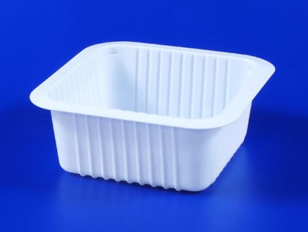 PP microwave frozen na pagkain TOFU plastic 590g sealing box - PP microwave frozen na pagkain TOFU plastic 590g sealing box