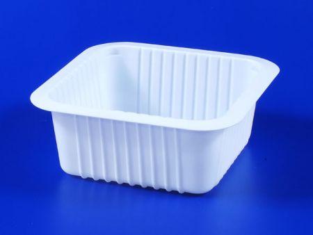 Boîte d'étanchéité en plastique TOFU pour aliments surgelés pour micro-ondes PP 590g - Boîte d'étanchéité en plastique TOFU pour aliments surgelés pour micro-ondes PP 590g
