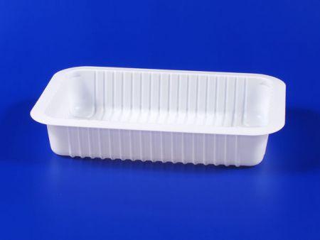 PP微波冷凍食品塑膠620g豆腐封口盒-2 - PP微波冷凍食品塑膠620g豆腐封口盒-2