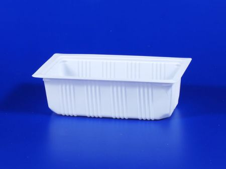 PP微波冷凍食品塑膠620g豆腐封口盒 - PP微波冷凍食品塑膠620g豆腐封口盒