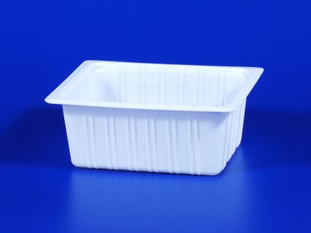 PP microwave frozen na pagkain TOFU plastic 630g sealing box - PP microwave frozen na pagkain TOFU plastic 630g sealing box