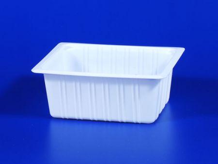 PP微波冷凍食品塑膠630g豆腐封口盒 - PP微波冷凍食品塑膠630g豆腐封口盒